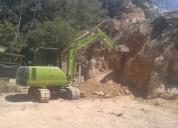 Excavadora y vagoneta, contactarse.