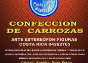 Carrozas arte estereÓfon figuras costa rica 84282765