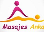 Masajes relajante en rohmoser