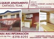 alquiler excelente apartamento 1 dormitorios