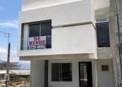 venta de casa nueva en el carmen de guadalupe goicoechea san jose 3 dormitorios