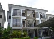 apartamento amueblado en condominio cariari 3 dormitorios