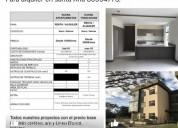 Comodo condominio para alquilar en lindora de santa ana 2 dormitorios