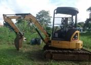 Excelente excavadora 303 5 maquinaria