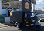 Cajon para food truck casas rodantes, consultar.