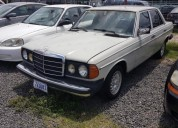 mercedes benz 1982 manual cars