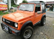 Zamurai 1986 manual 4x4 123456 kms cars
