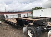Lowboy lowbed lovoy loboy low bed maquinaria .
