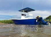 Bello bote de pesca/fiesta - remodelado, full equi