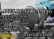 Live streaming audio con calidad de audio y voz hd