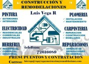Construcción y remodelaciones