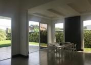 Venta o alquiler de casa nueva con piscina en condominio santa ana 3 dormitorios
