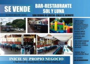 Se vende bar restaurante en grecia