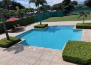 Casa para alquiler en condominio en brasil de santa ana 3 dormitorios