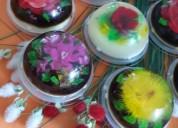 Taller gelatinas florales