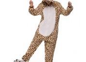 Pijama oso leopardo- tienda kigurumi costa rica