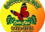 Cabañas la paz en costa rica 6172-9922