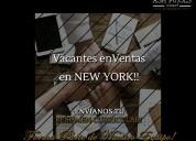 Vacantes de ventas directas en new york