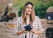 Bachiller en educacion media fotografa y profesora de fotografia en limón