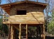 Linda quinta con una cabaña, en oriente, sta cruz