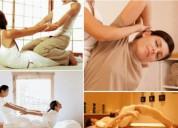 Masajes relajantes, terapéutico profesional