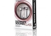 Audifono ultimate sound klass 3.5mm plateado pn: a