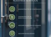 Administración de condominios, edificios, oficinas