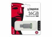 300817-memoria usb kingston datatraveler 50, 16gb