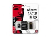 250273-memoria 16gb micro + lector usb mbly10g