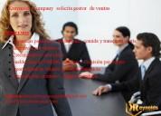 Solicito ejecutivo de ventas