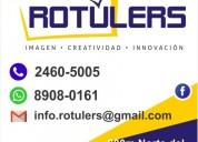 Rotulers rótulos en san carlos