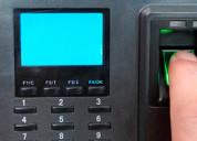 Instalacion de sistemas de control de horario y o