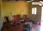 Vendo finca con casa en masatepe-masaya
