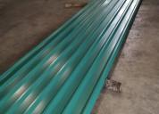 Se venden láminas de zinc estructurales esmaltadas