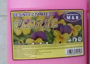 Variedad en aromas de desinfectante y cloro