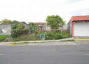 San rafael, heredia, costa rica lote 275m2      fr