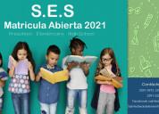 Matricula abierta 2021