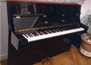 Piano vertical yamaha c110a acústico lacado negro