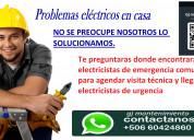 Técnico electricista a domicilio