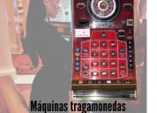 Máquinas tragamonedas ruletas