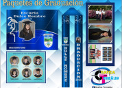 Portatitulos y paquetes de graduacion