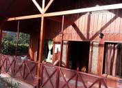 Se venden 2 casas tipo cabaña en san ramón, alj.