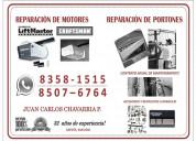 Portones eléctricos reparaciones